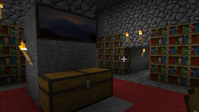 My Library in Minecraft