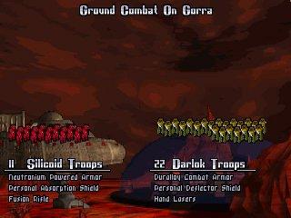 The Sillicoids invade Gorra