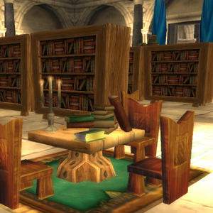 The Royal Library in World of Warcraft