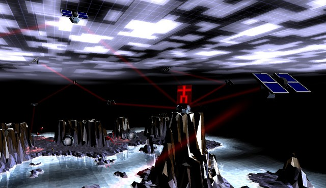 A Screenshot of Darwinia