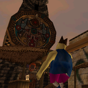 The Clock Tower in Majora's Mask