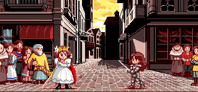 Princess Maker Street Duel