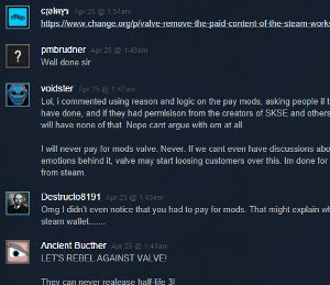 Steam Mod Comments