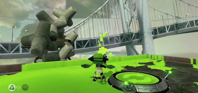Splatoon Octo Bridge
