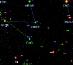 Orion Starmap